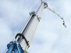 Nedal extrusion-cranes