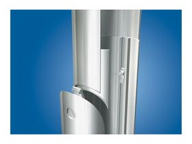 Nedal lighting columns - expanded inner tube