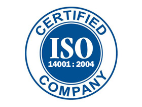 Nedal certificate - ISO 14001